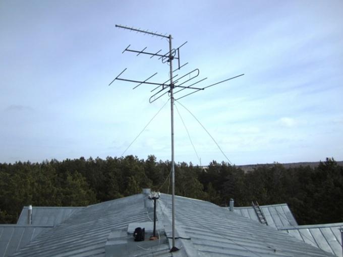 Как настроить эфирную антенну