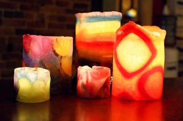 Парафиновые свечи в домашних условиях