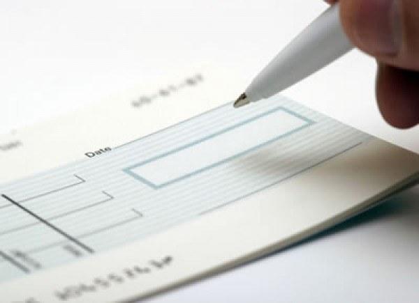 Как заполнить денежный чек