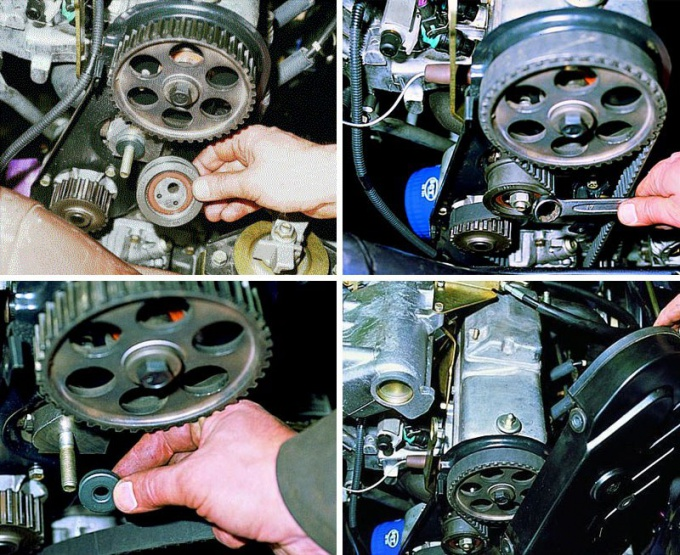 How to tighten the timing belt WHA