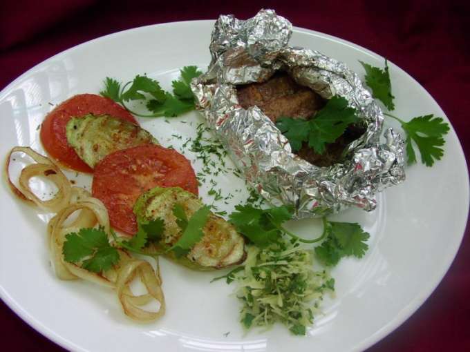 How to cook lamb in foil