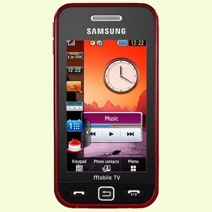 Как настроить интернет на телефоне Samsung c5212