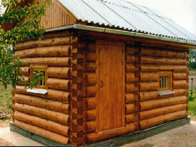 Как построить небольшую баню