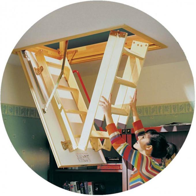 Как сделать чердачную лестницу