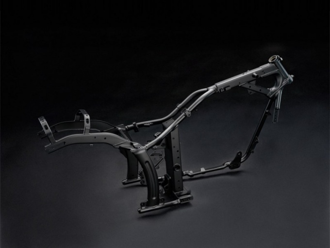 How to alter the frame of motorcycles