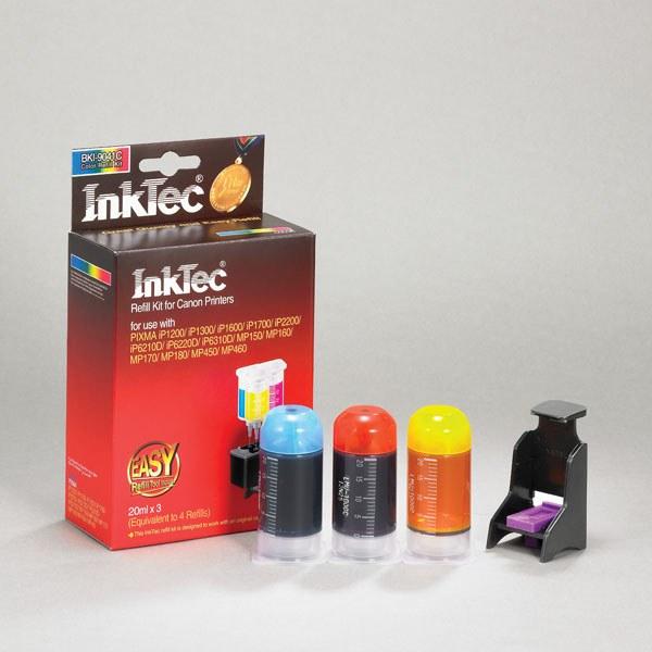 Как заправить струйный цветной принтер самому