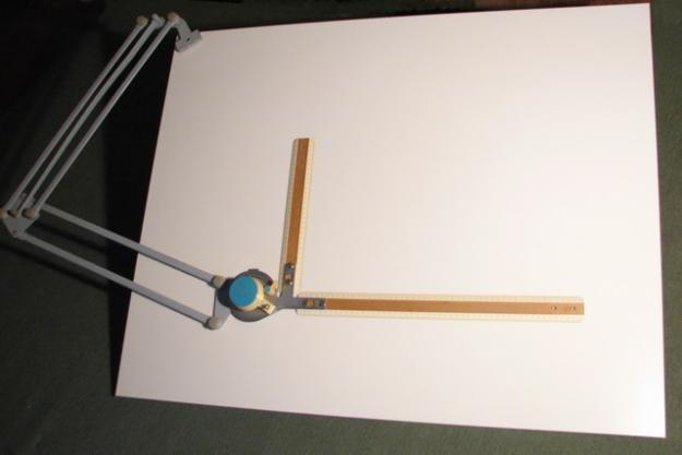 Как нарисовать правильный восьмиугольник