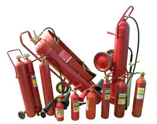 Как заправить огнетушитель