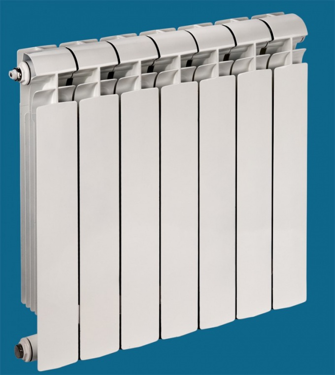 How to add a section on aluminum radiators