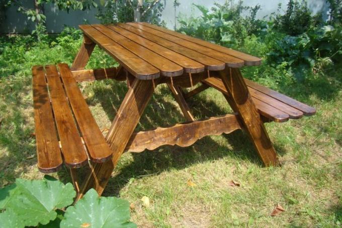 Как сделать садовую мебель