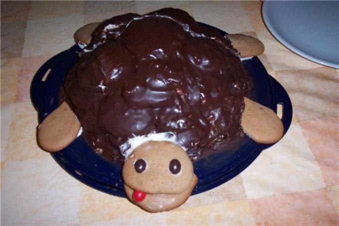 """Как испечь торт """"Черепаха"""""""