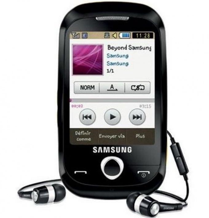 Как настроить телефон Samsung GT-s3650