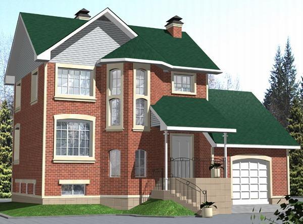 Как построить двух этажный дом