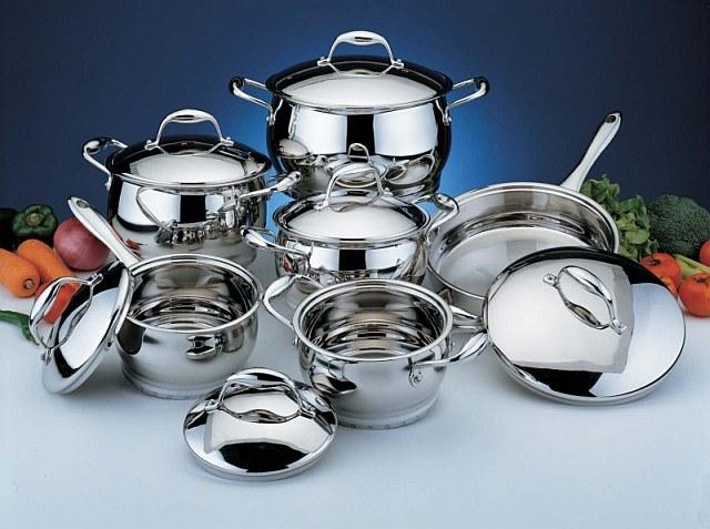 Как почистить посуду из нержавеющей стали