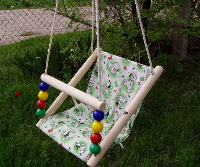 How to hang a swing