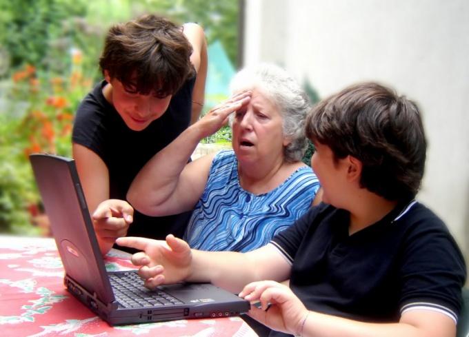 Как научить пользоваться интернетом