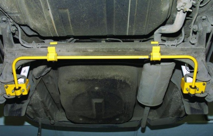 Как установить задний стабилизатор на ВАЗ