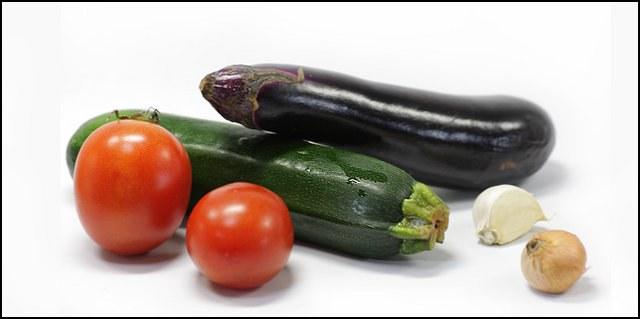 Как приготовить баклажан и кабачок