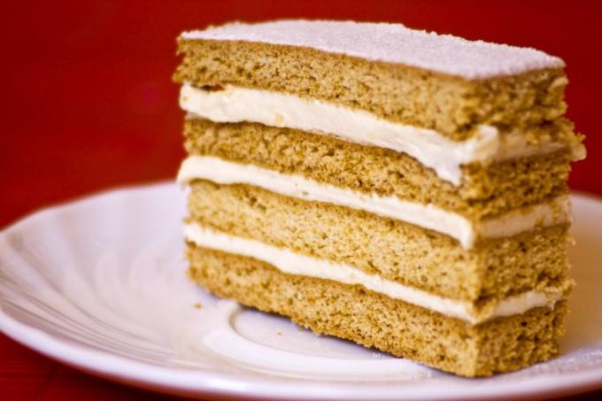 Как приготовить сметанный крем для торта