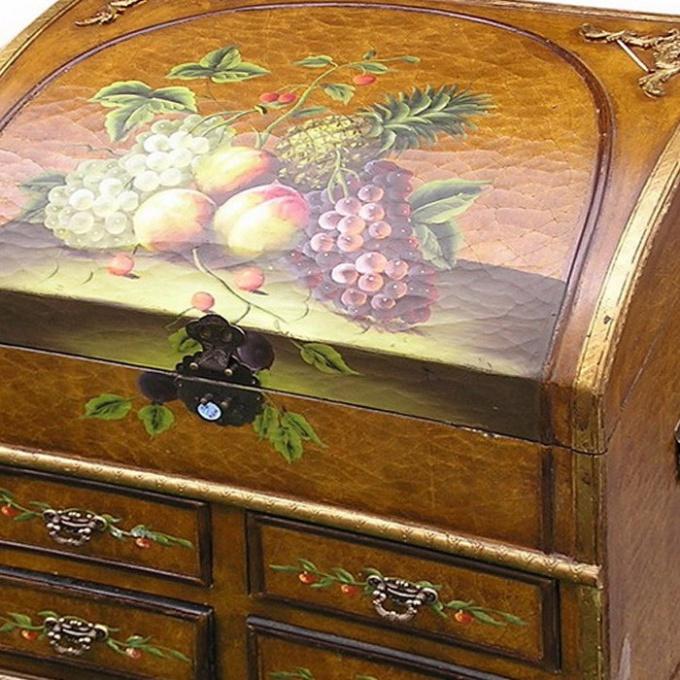 Как сделать мебель под старину