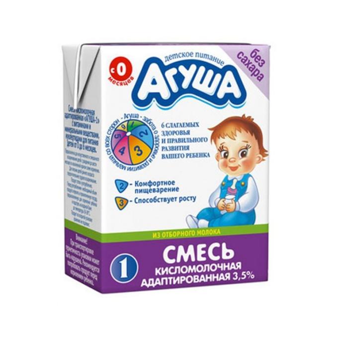 "How to enter the milk ""Agusha"""