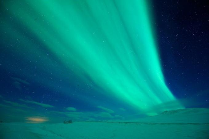 Как увидеть северное сияние