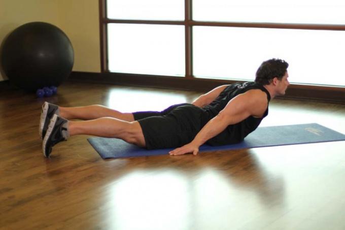 Как натренировать спину