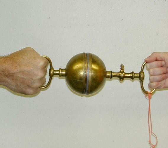 Как объяснить давление, которое производит газ на стенки сосуда