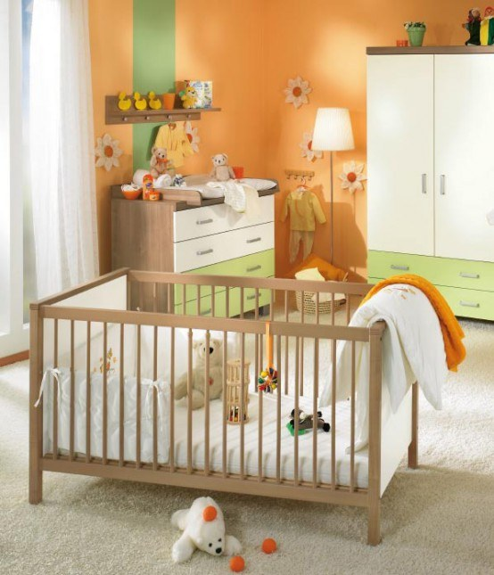 Как поставить детскую кровать