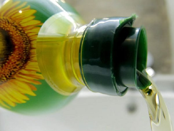 How to wash sunflower oil