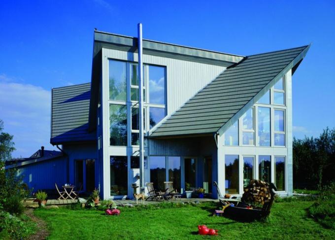 Интерьер деревянного дома внутри стили 49