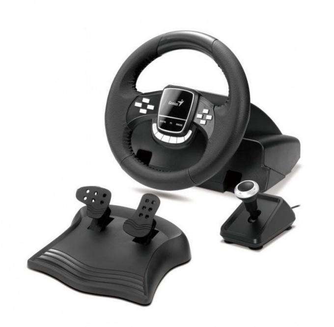 Как подключить руль к компьютеру