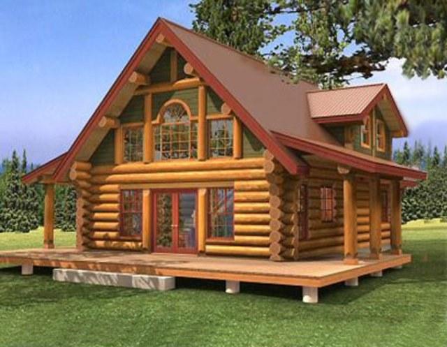 Как построить русский дом