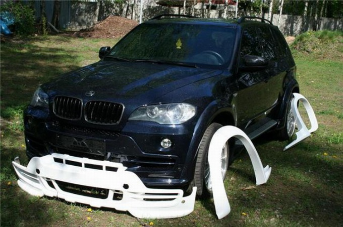 How to mount a body kit
