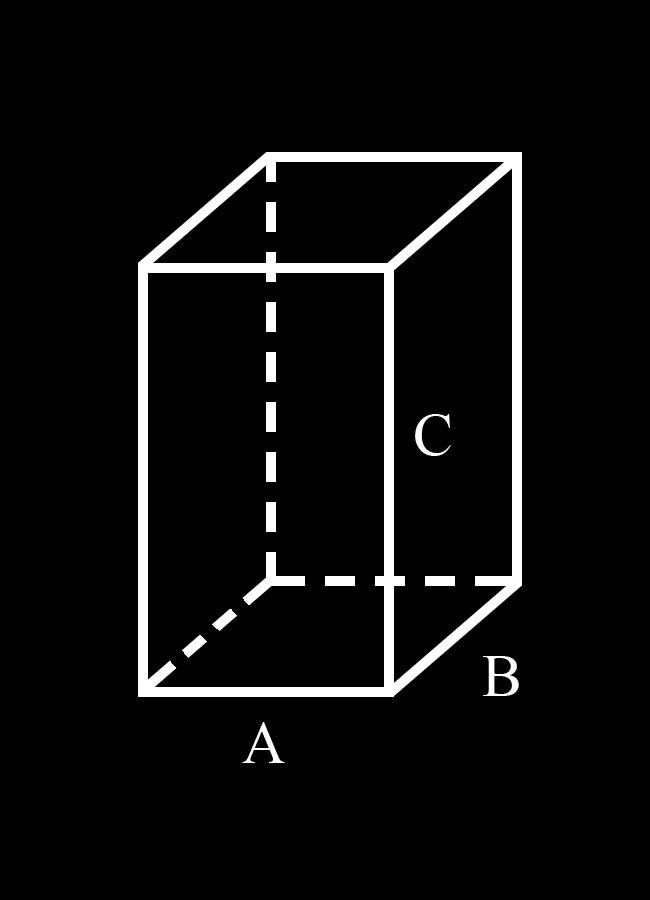 Как найти сумму длин всех рёбер параллелепипеда