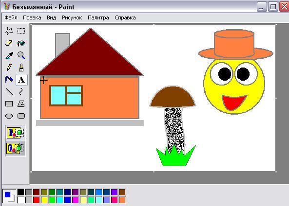 Смешные рисунки на компьютере