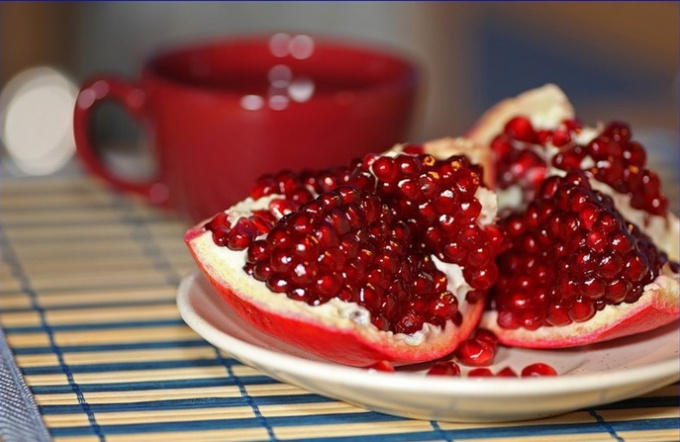 How to make pomegranate peel