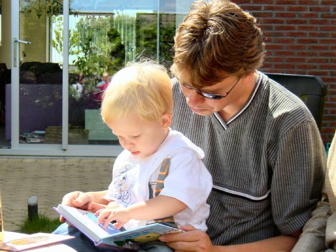 Как читать сказки с детьми