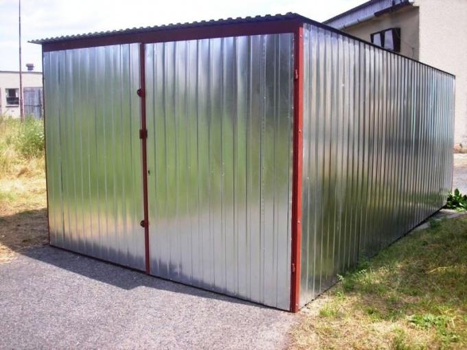 Как сделать железный гараж