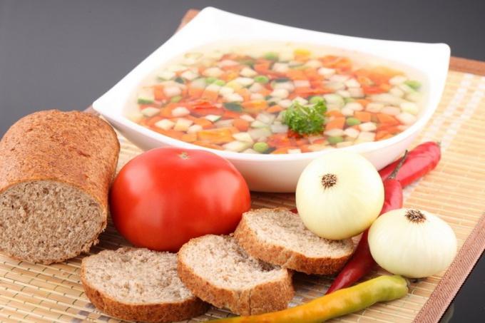 Как приготовить вегетарианский суп