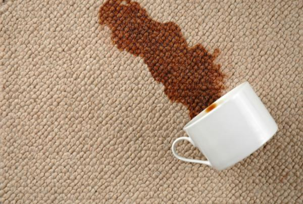 Как отстирать пятнышка кофе