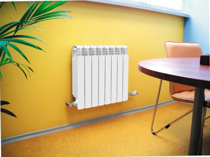 Как установить биметаллические радиаторы