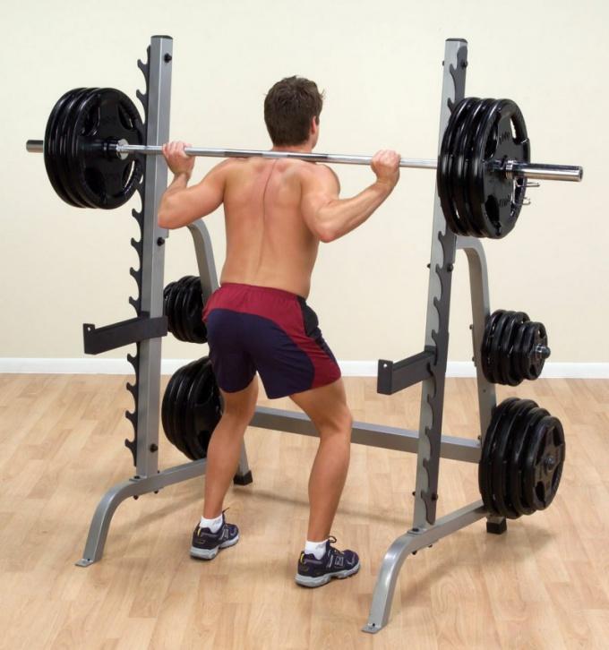 Как подобрать вес штанги