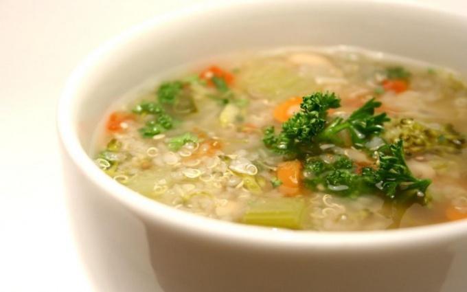 Как посчитать калории в супе