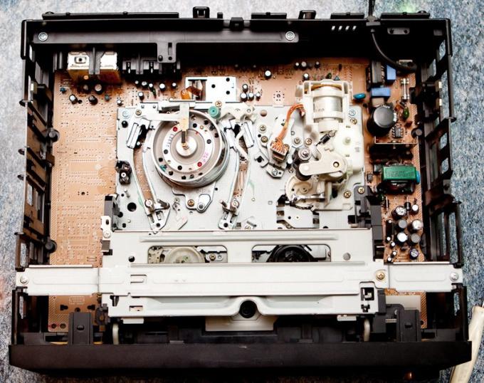 Как почистить головку видеомагнитофона