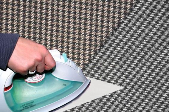 Как удалить блеск с ткани