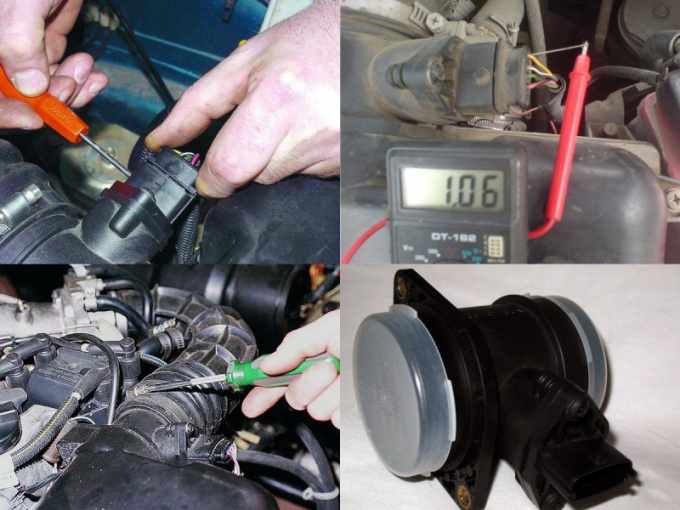 How to check MAF for VAZ 2110