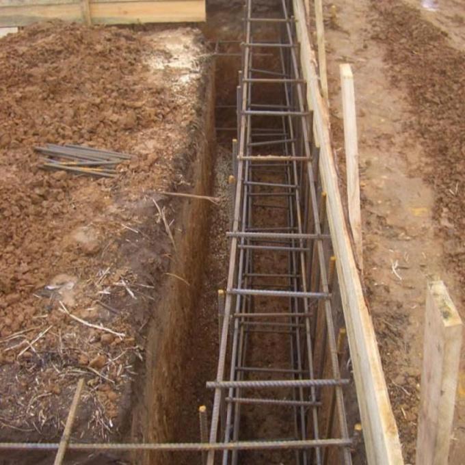 Как построить фундамент под дом