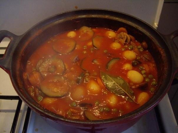 Как приготовить тушенные овощи