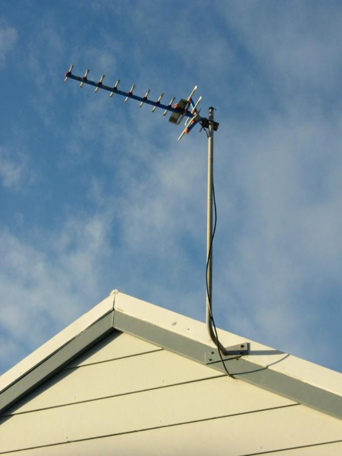 Как подсоединить антенну к телевизору